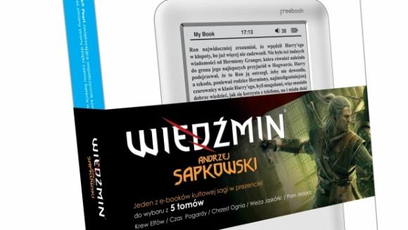 Wiedźmińskie ebooki na czytnikach Lark