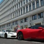 "Kawalkada Ferrari Costa Baltica na dziedzińcu CBF ""Nowy Świat""!"