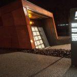 Muzeum II Wojny Światowej w Gdańsku z systemem informacji wizualnej