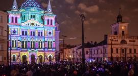 Rozbłysły kolorowe światła Light. Move. Festival. 2017
