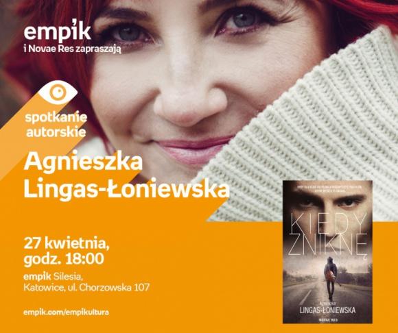 Agnieszka Lingas-Łoniewska – spotkanie autorskie w Empik Silesia