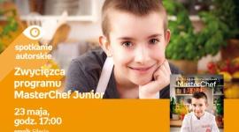 Zwycięzca programu Masterchef Junior w Empiku Silesia BIZNES, Kultura - Bartek Kwiecień, zwycięzca programu Masterchef Junior spotka się z fanami 23 maja o godzinie 17:00 w salonie Empik Silesia.