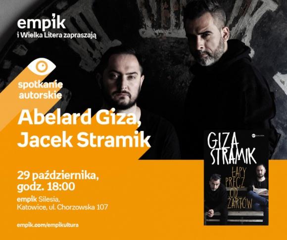 Abelard Giza i Jacek Stramik w Empiku Silesia