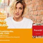 Anja Rubik w Empiku Supersam