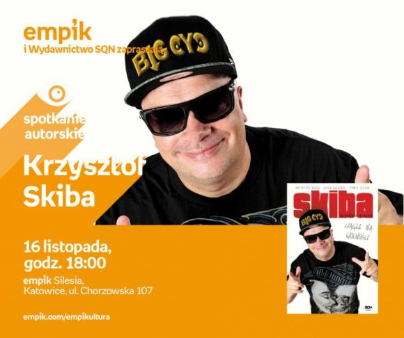 Krzysztof Skiba – Spotkanie autorskie w Katowicach