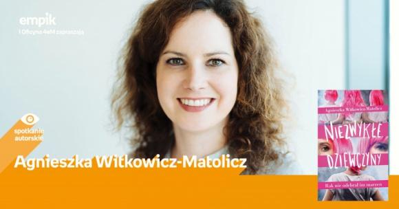 Spotkanie autorskie z Agnieszką Witkowicz-Matolicz w Empiku Silesia
