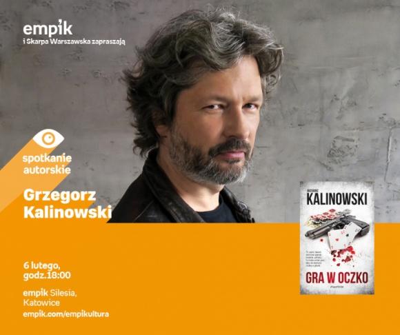 Spotkanie z Grzegorzem Kalinowskim w Empiku Silesia