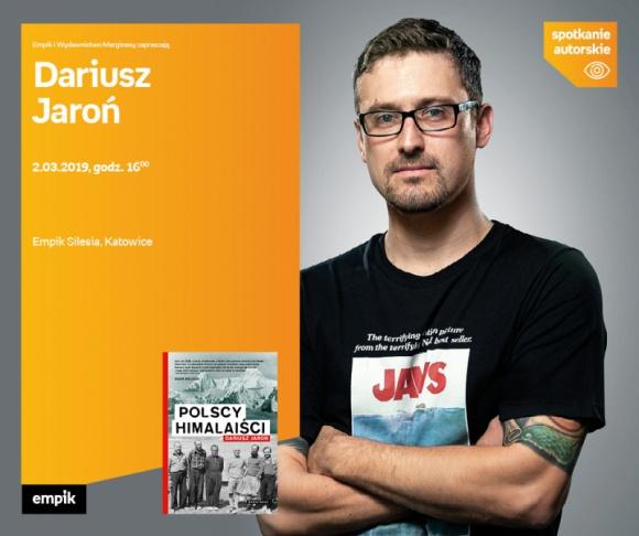 Dariusz Jaroń spotka się z czytelnikami w Empiku Silesia