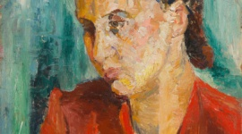 Mela Muter i Zygmunt Menkes na wystawie Art Outlet