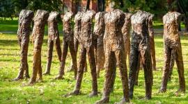 Rzeźba za 10 milionów Magdaleny Abakanowicz z kolekcji Robina Williamsa