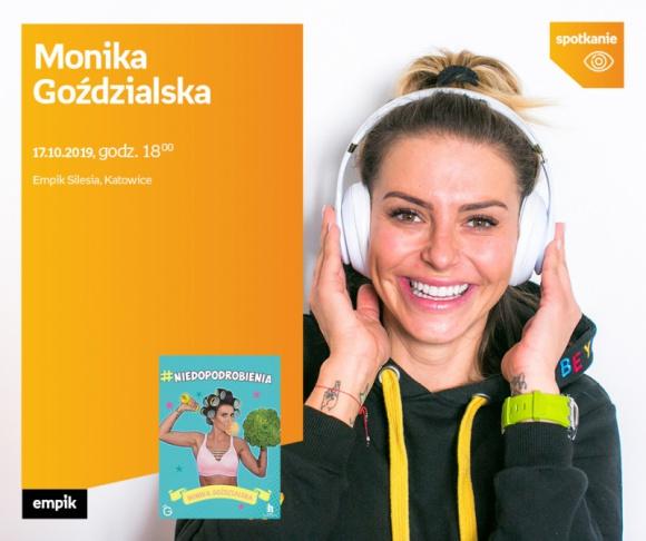 Monika Goździalska w Empiku Silesia
