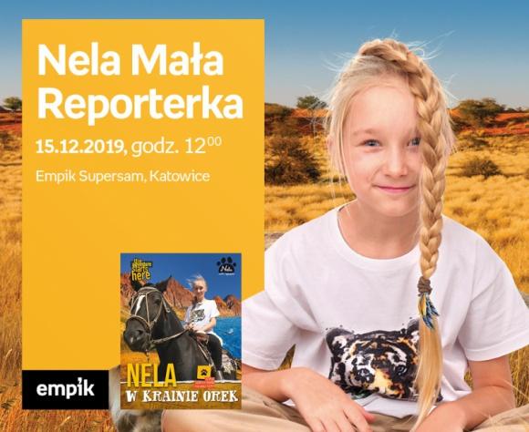 Nela Mała Reporterka odwiedzi Empik w Supersamie