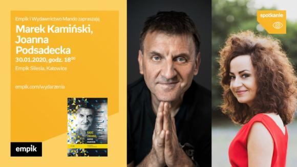 Marek Kamiński i Joanna Podsadecka w Empiku Silesia