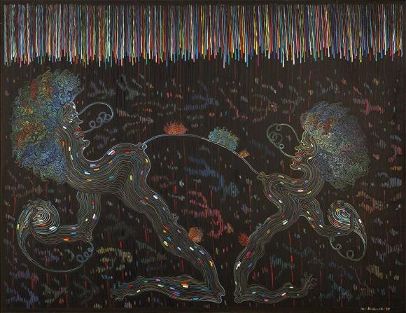 Sztuka rozpusty: 5 bezwstydnych dzieł polskich artystów BIZNES, Kultura - 6 grudnia na aukcję w stołecznej Librze trafi kilka klasyków gatunku - od gry wstępnej w biały dzień po perwersję na czarnym tle.