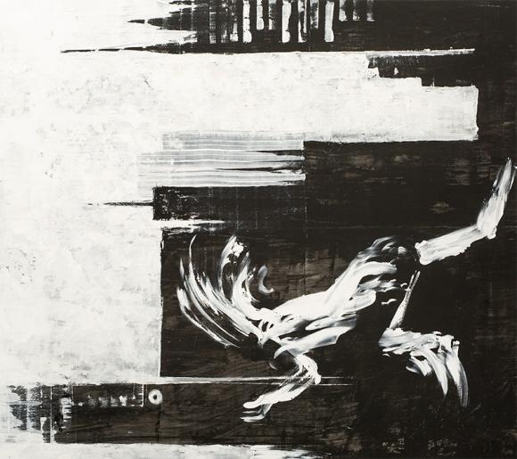 Jerzy Skolimowski - Jackson Pollock z Polski BIZNES, Kultura - 16 grudnia niemal dwumetrowe, tętniące miejską energią płótno Jerzego Skolimowskiego trafi na wieczorną licytację domu aukcyjnego Libra.